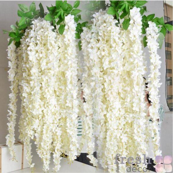 1 pcs rotanga polosy glicinija iskusstvennye cvety loza dlja svadby domoj partii detskaja komnata ukrashenija diy 1 1