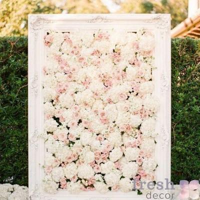Арка картина стена из цветов.