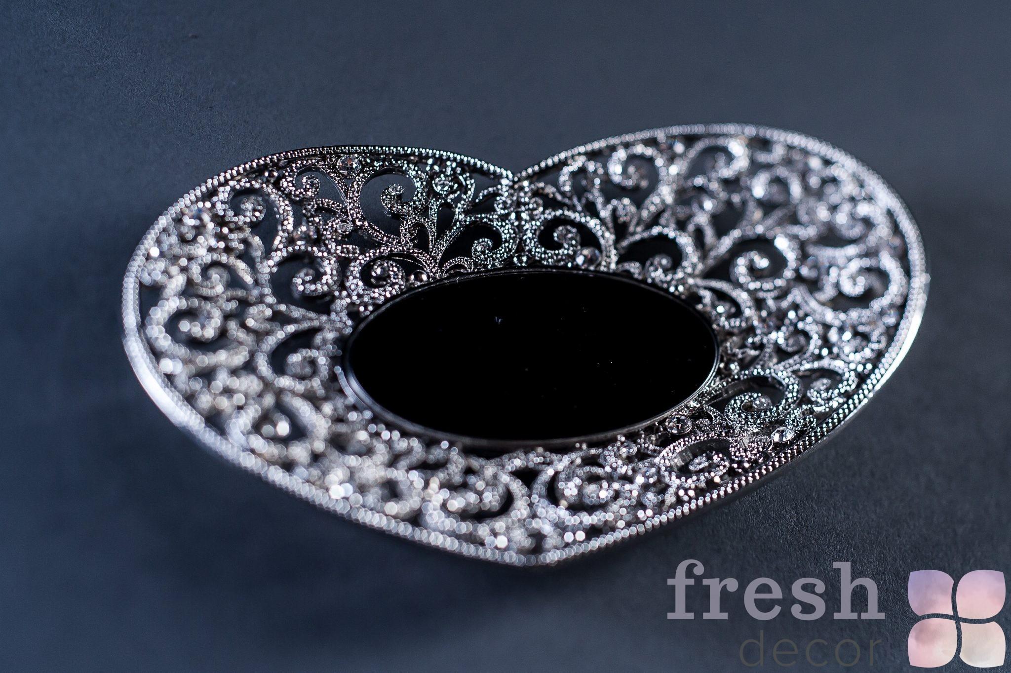 Аренда для праздника блюда из серебра под кольца