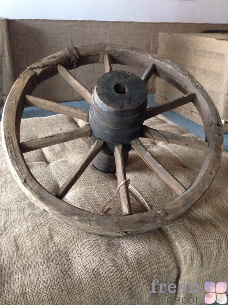 декоративные колеса