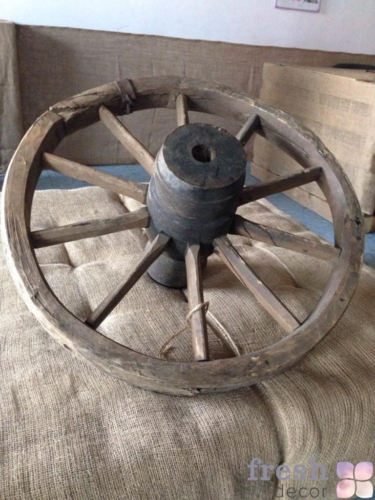 колеса для свадеб рустик