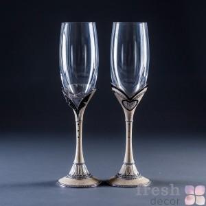 элитные бокалы свадьба (2)