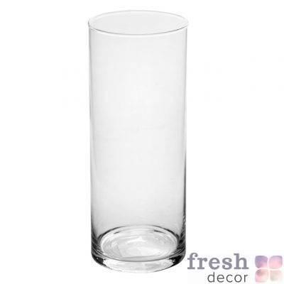 vaza cilindr vysotoj 25 sm shirinoj 11 sm