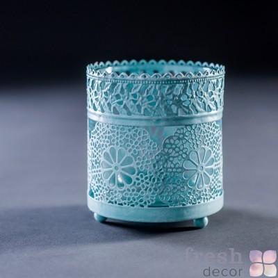 подсвечник тиффани для одной свечи3