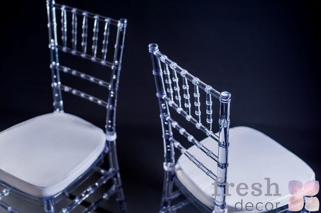 прозрачные стулья Кьявари Купить 1