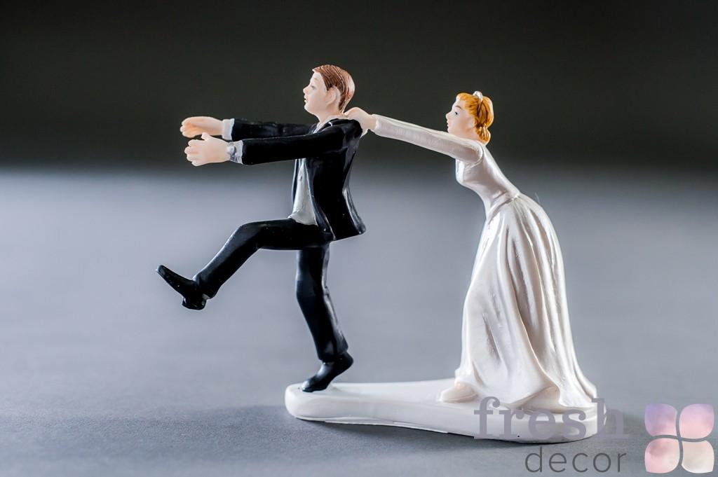 Невеста и убегающий жених