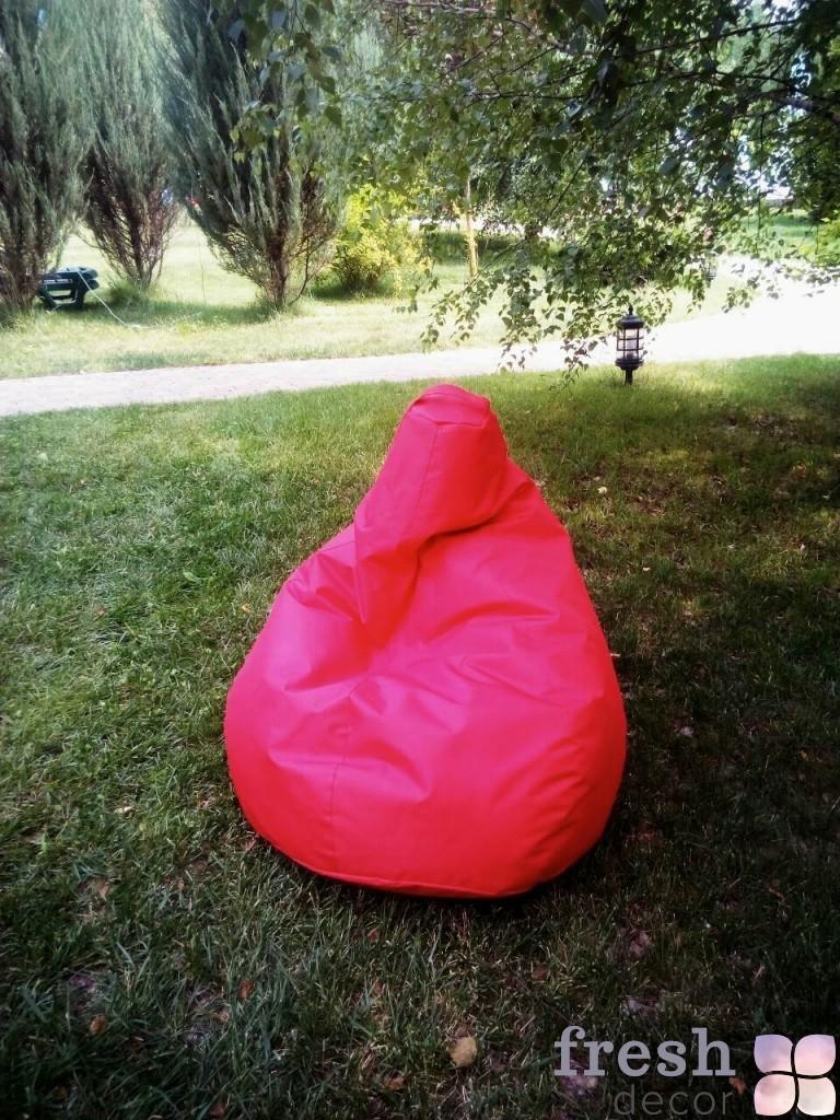 бескаркасное кресло красное в аренду