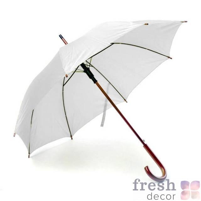 Белые зонтики в аренду