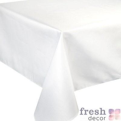 Скатерти белые на прямоугольные столы