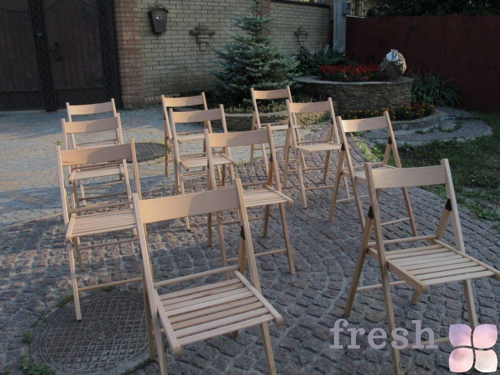 стулья натурального цвета аренда свадьба Харьков