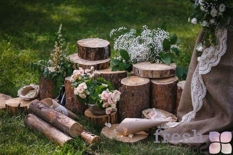стул из спила в аренду на свадьбу Харьков