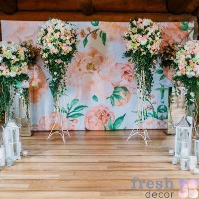 аренда ширмы для свадьбы