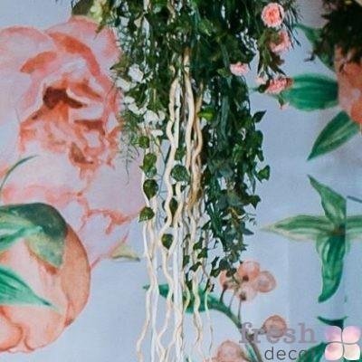 Высокая стойка для цветов