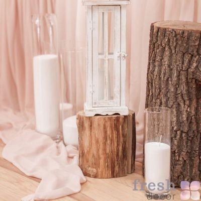 фонарик белый деревянный прокат украина