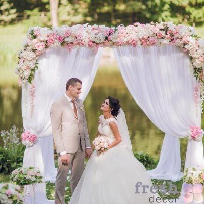 Декор выездной свадьбы
