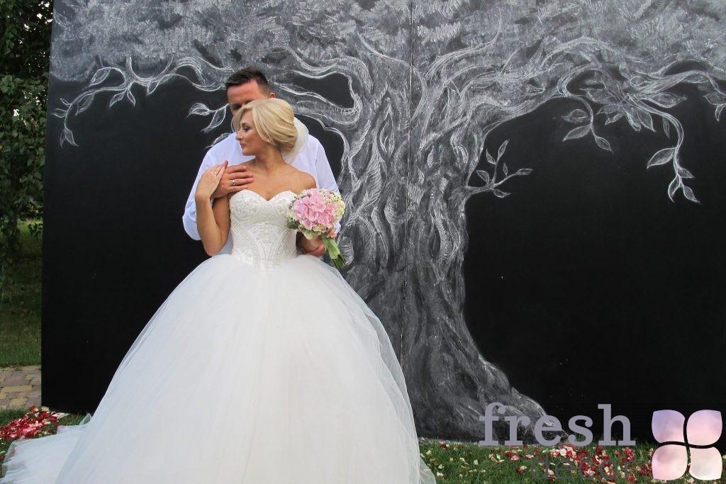 Меловая арка для свадеб
