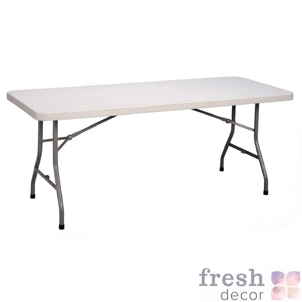 прямоугольный стол для кейтеринга