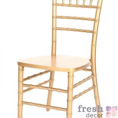 Золотой стул Кьявари в аренду