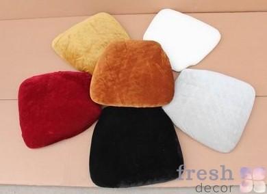 велюровая подушка для стульев