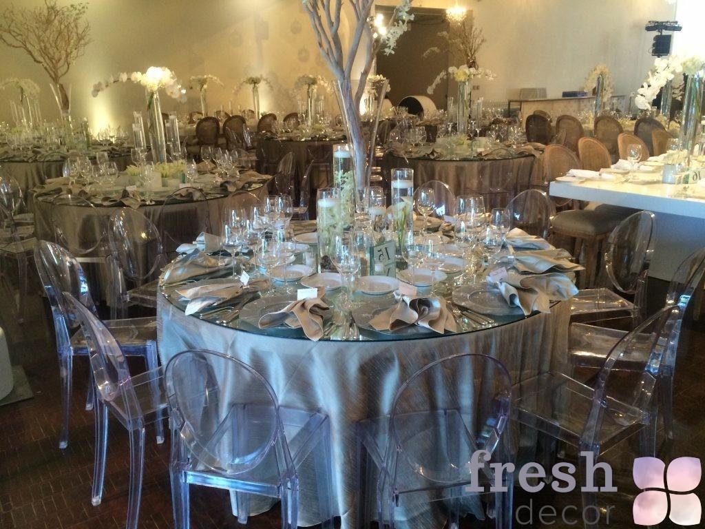 оформление свадьбы с Louis Victoria Ghost Chair