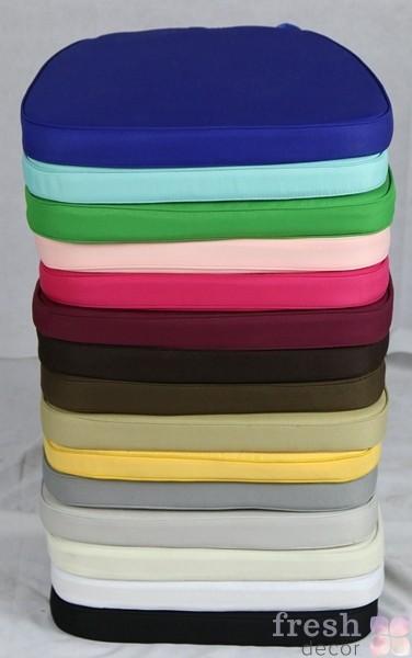 подушки разноцветные для стульев в продажу