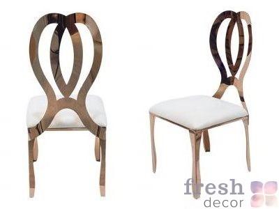 стул белый с подушкой