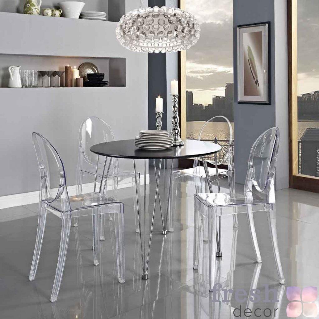Louis Victoria Ghost Chair в интерьере
