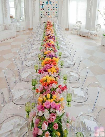 Louis Victoria Ghost Chair на свадьбе