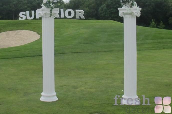 классические колоны из полистирола в аренду