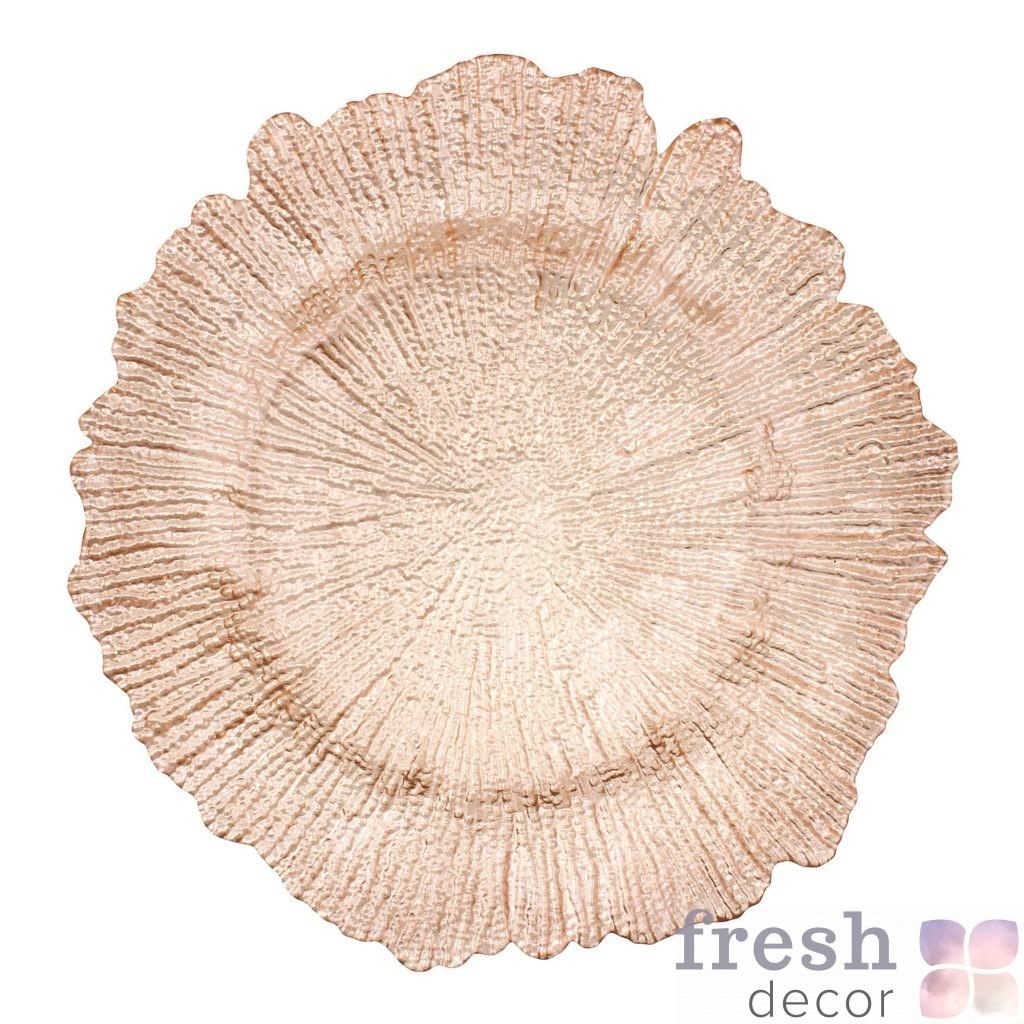 Подставная тарелка цвета шампань