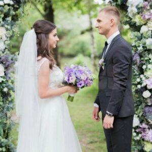 2017 07 14 11 04 06 svadebnaya arka dlya vyezdnoi ceremonii zelenaya s cvetami 2