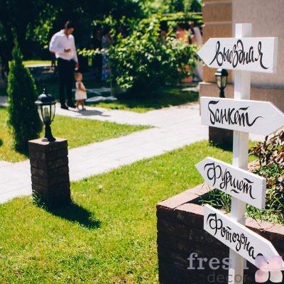 стойка для навигации на свадьбу в аренду