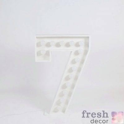 cifra 7 s lampochkami svetyashhayasya