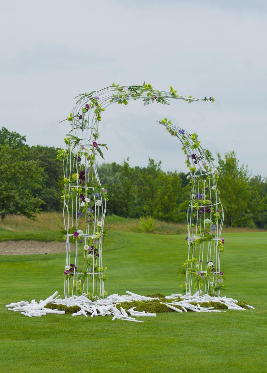 kreativnaya svadebnaya arka