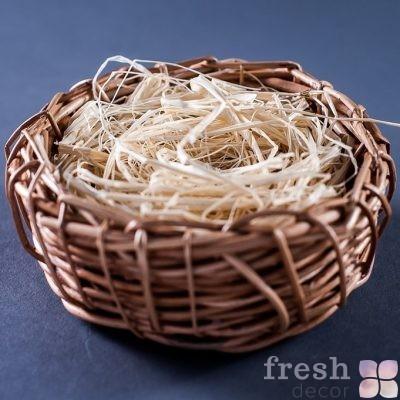 Корзинка гнездо для декора
