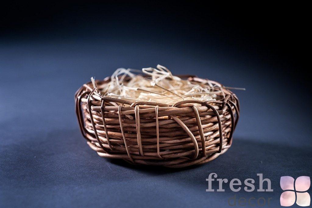 Корзинка гнездо для декора1