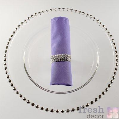 салфетка фиолетового цвета