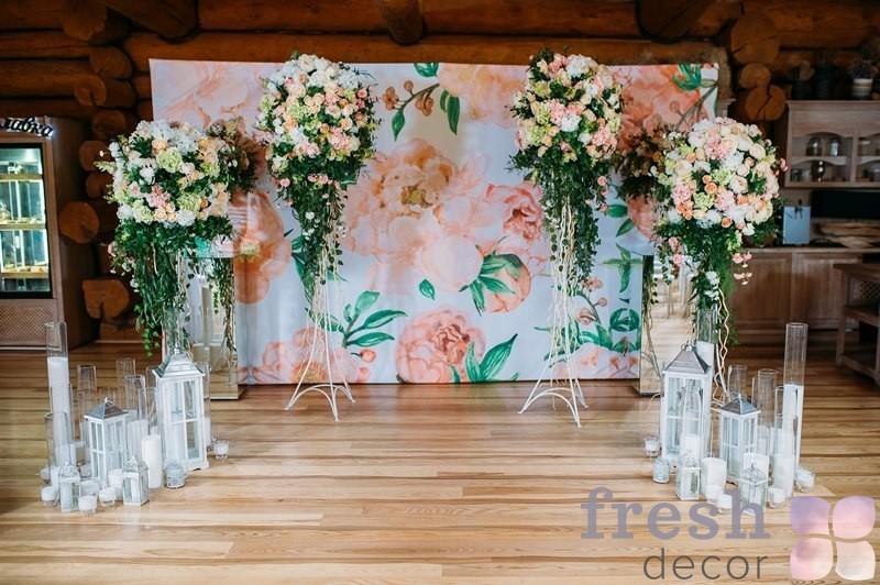 подставка кованая для цветов
