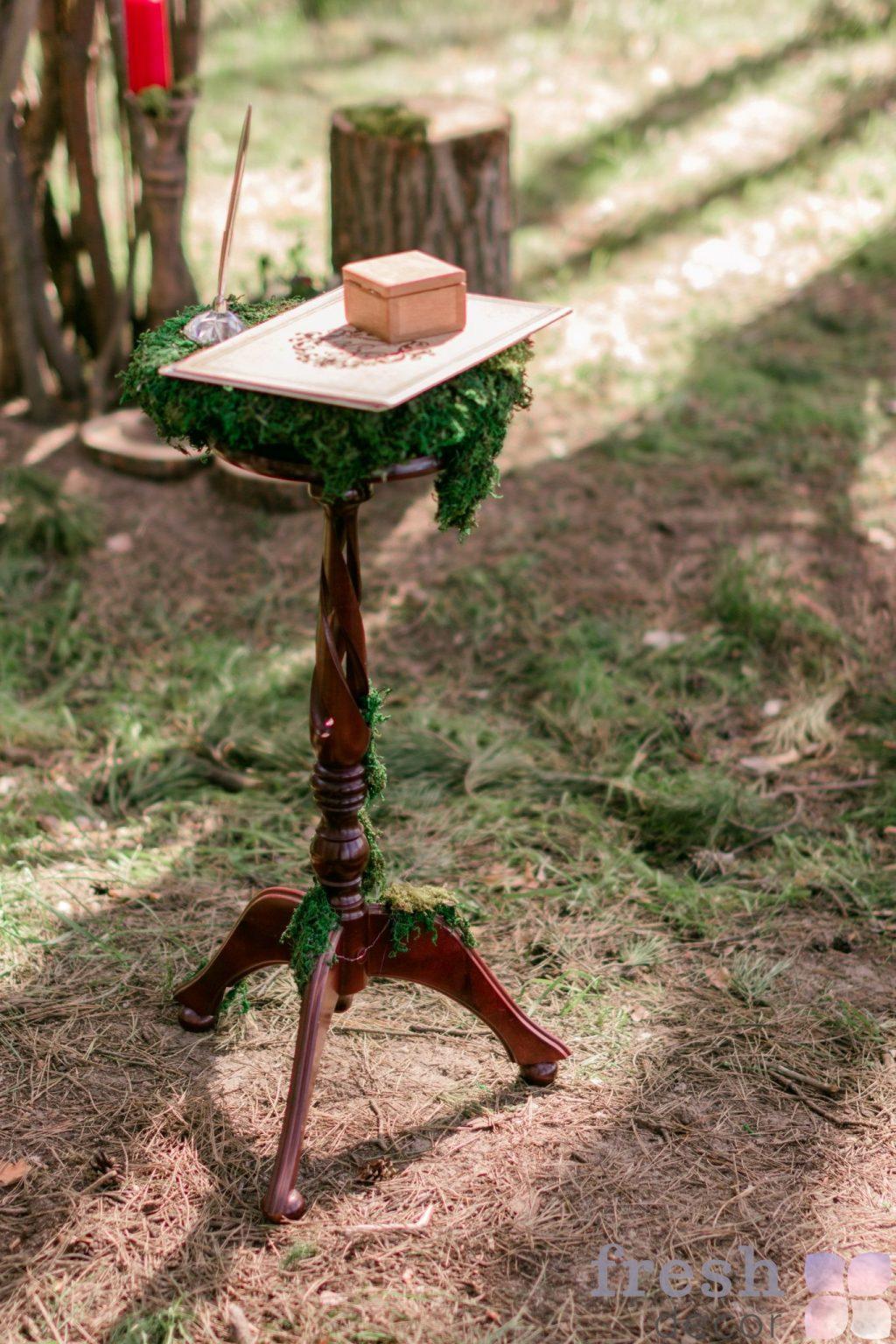 столик для росписи из дерева