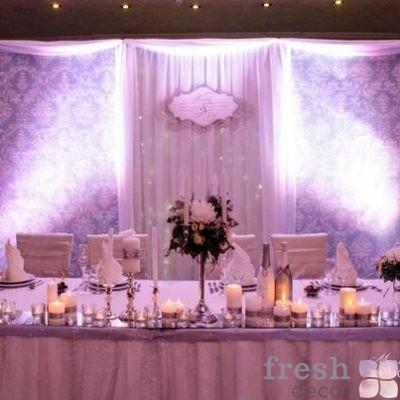 тканевая ширма арка на свадьбу