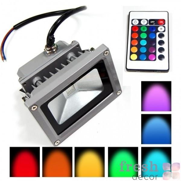 светодиодній прожектор разноцветній в прокат