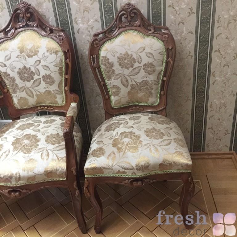 Копия стул в стиле барокко в прокат