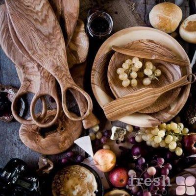 Деревянная и глиняная посуда