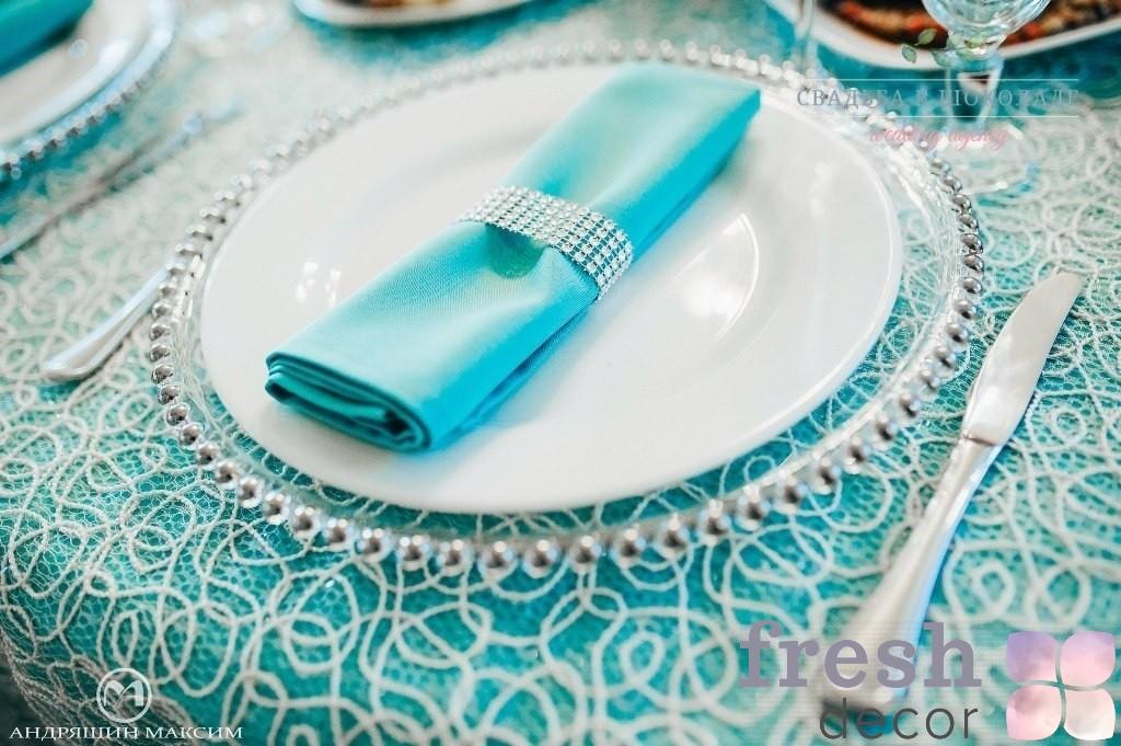 оформление банкета свадьбы цвета тиффани харьков ресторан чехов 2