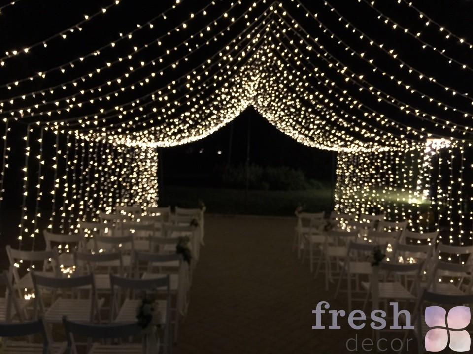 шатер из светодиодов 4