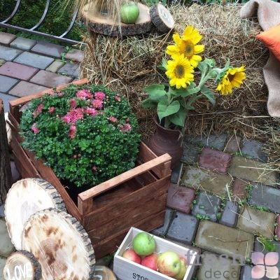 ящик из дерева для декора мелкий декор в аренду прокат харьков