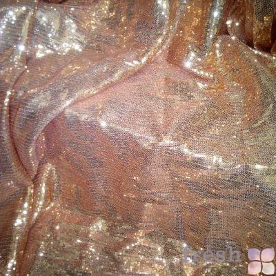 золотая пайетка бронзовый отлив