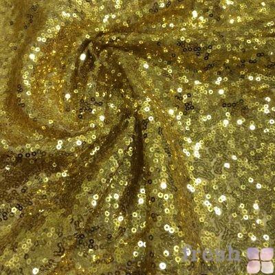 ткань золотая пайетка в аренду