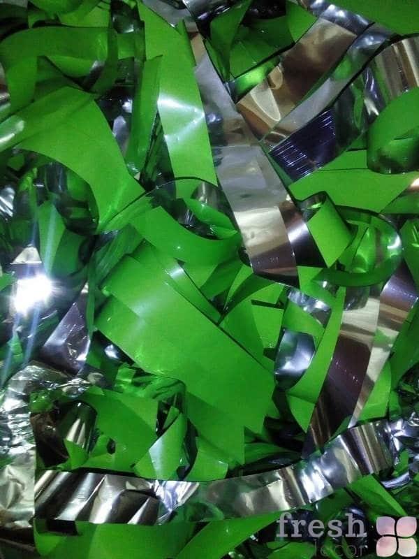 зеленая бумага для бумажного шоу