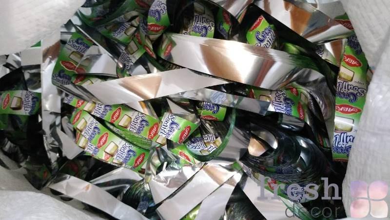 зелено салатовая бумага для бумажного шоу